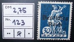 N°1642B BRIEFMARKE DEUTSCHES REICH GESTEMPELT GEPRUFT - Duitsland