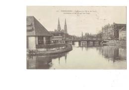 Cpa - 67 - Strasbourg - Confluent De L'Ill Et Du Canal - Tramway - 1923 - N°125 - Bois Scierie ? - Strasbourg