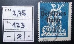 N°1657B BRIEFMARKE DEUTSCHES REICH GESTEMPELT GEPRUFT - Duitsland
