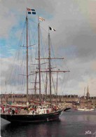 Bateaux - Voiliers - Bretagne - Saint Malo - Vieux Grément Entrant Dans Le Bassin Vauban - Voir Scans Recto-Verso - Voiliers