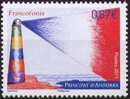 Andoora, Francofinie Lighthouse, MNH. Michel 726 - Phares