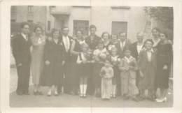 Luxembourg - Esch S/ Alzette - Carte Photo De Mariage Famille Kirsch / Menardi Vers 1940 / 1950 - Esch-Alzette