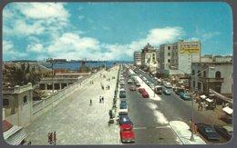 CP  Partial View Of The Malecon In Veracruz, México . Unused - Mexique