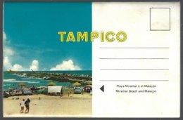 Booklet Of 7 PC Views Recto/verso, Saludos Desde Tampico México . Unused - Mexique