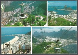 CP  V-05.- RIO DE JANEIRO, Multiviews.used - Rio De Janeiro