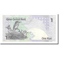 Billet, Qatar, 1 Riyal, 2008, Undated (2008), KM:20, NEUF - Qatar