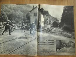 Tour De France Cycliste 1959 Passage à Niveau En Montagne   VELO - Cyclisme