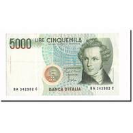 Billet, Italie, 5000 Lire, 1985, 1985-01-04, KM:111a, SUP - [ 2] 1946-… : Repubblica