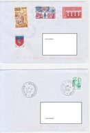 LOT 1376 2 PLIS MAYOTTE AVEC OBLITERATIONS KAWENI CTC 2018 Et PAMANDZI AP 2018 - Poststempel (Briefe)