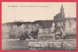 CPA-76 - DIEPPE- PAVILLON De SECOURS Et Les Falaises -  -2 SCAN- - Dieppe