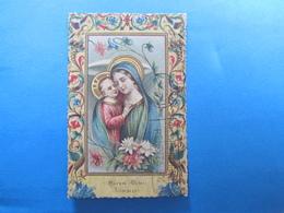 CARTOLINA VERGINE MARIA MATER BONI CONSILII - VIAGGIATA 1936 - Vergine Maria E Madonne