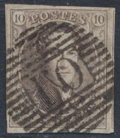 """Médaillon - N°10A Margé + Voisin Obl Ambulant """"O.I"""". Superbe ! - 1858-1862 Médaillons (9/12)"""