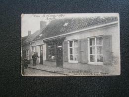 Poperinghe - Poperinge - Watou : Het Postbureel - Le Bureau Des Postes 1904 !!!! - Poperinge