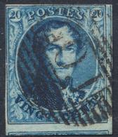 """Médaillon - N°11A + Voisin Obl Ambulant """"O.I"""" - 1858-1862 Médaillons (9/12)"""