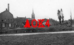 59 Nord BOUSBECQUE Wervicq Menen Halluin Eglise Lys Feldlazarett Occupation Allemande 1917 Flandern Ambulance - France