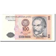 Billet, Pérou, 100 Intis, 1987, 1987-06-26, KM:133, SPL+ - Pérou