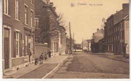 Câtelet - Rue De Couillet - Animé - Edit. Fernand Vieslet, Châtelet - Carte D' Un Carnet - Châtelet