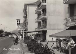 Liguria - Genova - Cavi  - Via Aurelia  - F. Grande - Anni 60 - Molto Bella Con Esposizione Cartoline - Italy