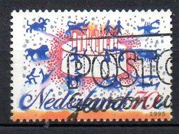 PAYS-BAS. N°1510 Oblitéré De 1995. Les Signes Du Zodiaque/Gâteau D'anniversaire.. - Astrología