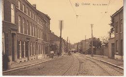 Châtelet - Rue De La Station - Edit. Fernand Vieslet, Châtelet - Carte D' Un Carnet - Châtelet
