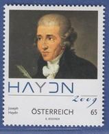 Österreich 2009 Sondermarke Komponist Joseph Haydn  Mi.-Nr. 2799 - 1945-.... 2nd Republic
