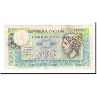 Billet, Italie, 500 Lire, 1976, 1976-12-20, KM:94, TB+ - [ 2] 1946-… : Repubblica