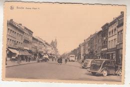 Binche - Avenue Albert Ier - Animé - Oldtimers - Edit. Ray. Longfils/Nels - Binche