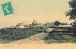 60 - LEVIGNEN / AVENUE VENANT DE LA GARE DE BOISSY LEVIGNEN (carte Toilée) - Autres Communes