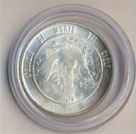 San Marino KM-Nr. : 71 1977 Stgl./unzirkuliert Silber 1977 500 Lire Vogel (9157931 - San Marino