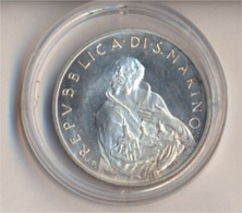 San Marino KM-Nr. : 97 1979 Stgl./unzirkuliert Silber 1979 500 Lire Marinus (9157933 - San Marino