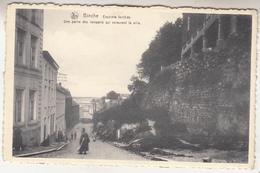 Binche - Enceinte Fortifiée - Une Partie Des Remparts Qui Entourent La Ville - Animé - Edit. Longfils, Binche/Nels - Binche