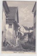 Malans - Dorfkern - Animiert - 1912          (P-221-90505) - GR Grisons