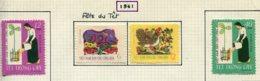 16906 VIET-NAM Du NORD Collection Vendue Par Page N°254/5, 256/7 *  1961    TB - Viêt-Nam