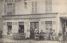 "CARTE PHOTO COMMERCE / HOTEL ""Hotel Du Cheval Blanc"" - Restaurants"