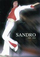 SANDRO 1945 - 2010 ADIOS GITANO!! PUBLICIDAD - NTVG. - Publicidad