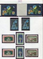 16914 VIET-NAM Du NORD Collection Vendue Par Page N°728/30, 731/3 + N.D  */**  1971    TB - Viêt-Nam