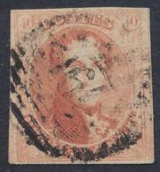 """Médaillon - N°8 Margé Obl P160 """"Roux"""" - 1851-1857 Medaglioni (6/8)"""