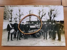 CEAUCE   LES POMPIERS     ORNE    Reproduction D'une Photo   15,2 X 10,2 - Personnes