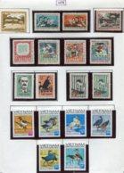16917 VIET-NAM Du NORD Collection Vendue Par Page N°74/9, 750/3, 754/5, 756/7, 760/5  *  1972    TB - Viêt-Nam