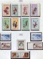 16919 VIET-NAM Du NORD Collection Vendue Par Page N°768/75 N.D, 776/7, 778/80 */ **  1972-73    TB - Viêt-Nam