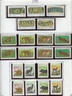 16920 VIET-NAM Du NORD Collection Vendue Par Page N°781/5, 786/9, 786/9N.D, 790/3, 790/3N.D *  1973    TB - Viêt-Nam