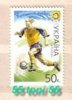 2001 Sport -  FOOTBALL  1v-MNH  UKRAINE - Football
