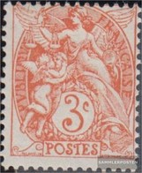 France Mi.-number.: 88x A Unmounted Mint / Never Hinged 1900 Blanc - Unused Stamps