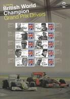 Gran Bretagna, 2010 CS9 Campioni Inglesi Di Automobilismo, Smiler, Con Custodia, Perfetto - Personalisierte Briefmarken