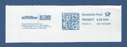 Deutsche Post FRANKIT - 0,60 EUR 2014 - 4D110003B6 - ISMANING, Activision Blizzard Deutschland GmbH - Machine Stamps (ATM)