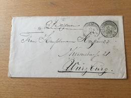 K8 Niederlande Ganzsache Stationery Entier Postal U 2 Von S'Hertogenbosch Nach Würzburg - Entiers Postaux