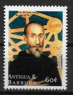 ANTIGUA   N° 2744 * *  Millennium Rabbin Moise De Leon - Judaisme