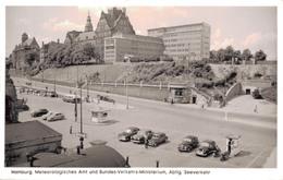 HAMBURG / METEOROLOGISCHES AMT UND BUNDES VERKEHRS MINISTERIUM - AUTOS 1950 - Allemagne