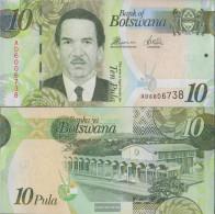 Botswana Pick-number: 30d Uncirculated 2014 10 Pula - Botswana