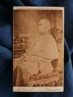 Photo CDV Eug. Delon à Toulouse - Religion, Prêtre, évêque Assis, Circa 1890 L489 - Anciennes (Av. 1900)
